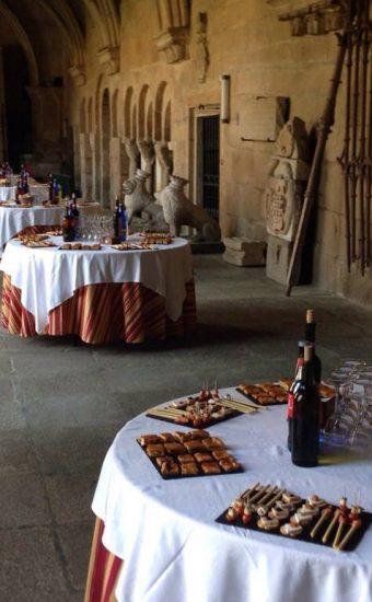 recepcion_claustro-catedral_de_tuy_catering_jorge_lorenzo_eventos
