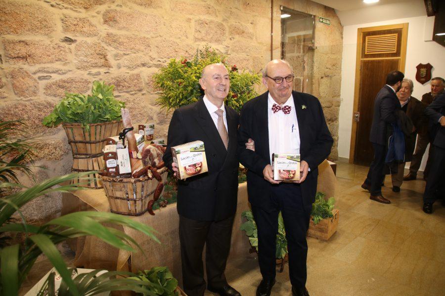 Coren y A Rosaleira presentan su nuevo «Lacón con Grelos» en el Pazo de Mos